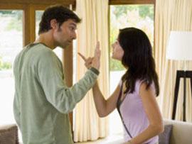 पति और पत्नी के विवाद